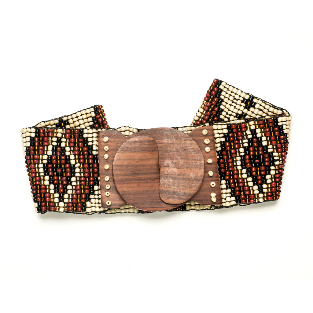 Bone Mix Native Belt