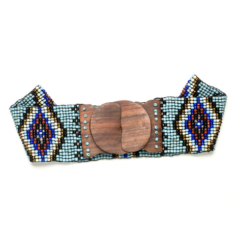 Turquoise Mix Native Belt