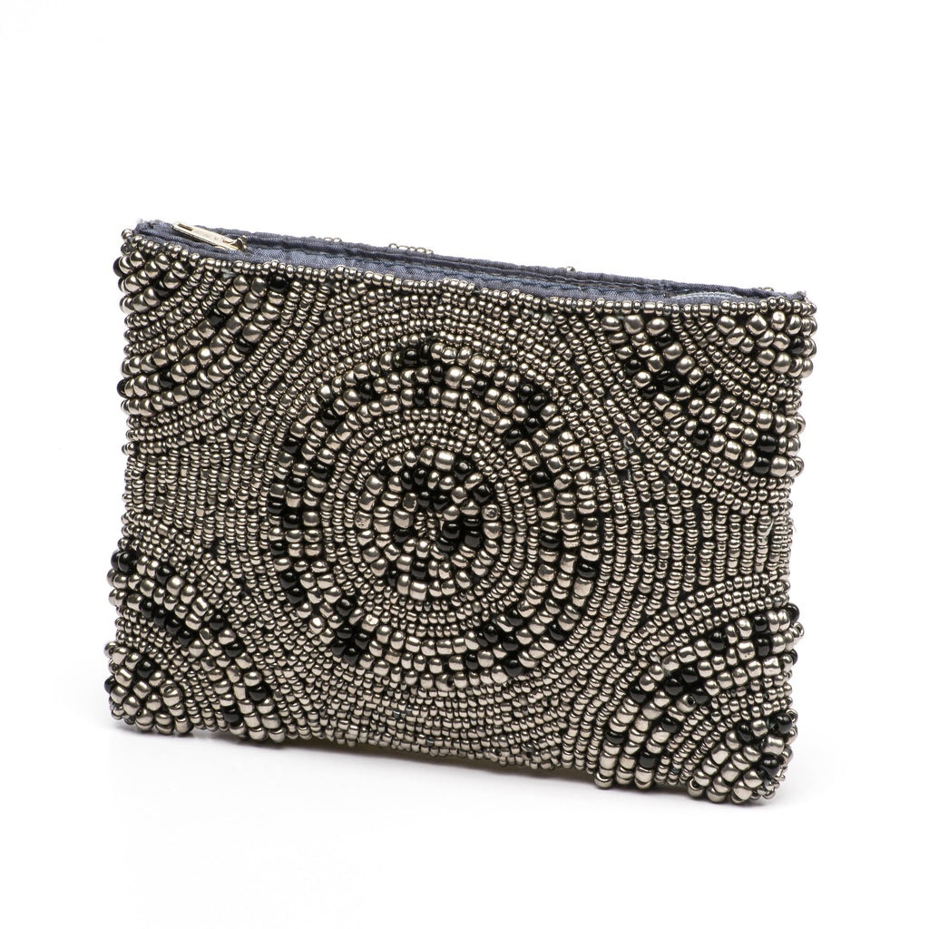 Coin Purse-  Midnight Pewter Collection