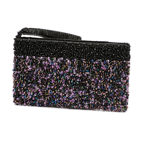 Evening Clutch- Purple Cosmos