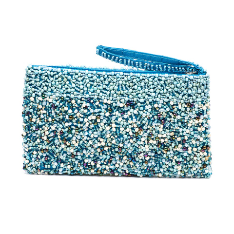 Evening Clutch - Turquoise Ocean Mix