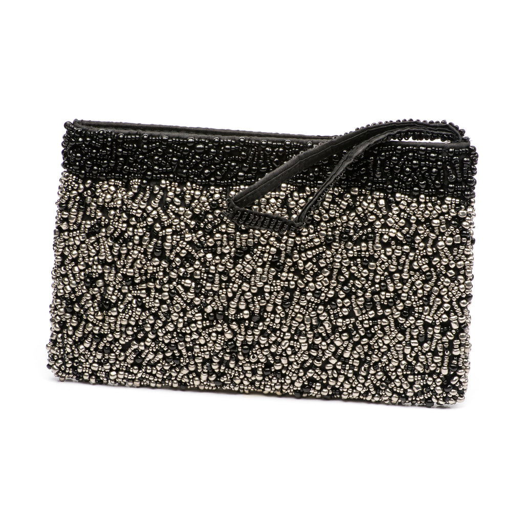 Evening Clutch- Midnight Pewter Collection