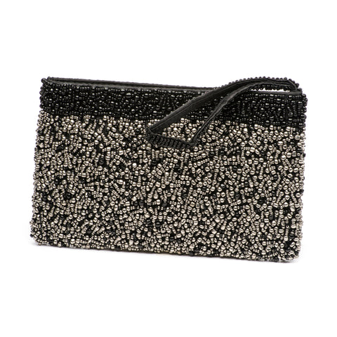 Evening Clutch- Midnight Pewter