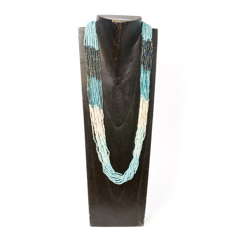 Multi-Strand Ocean Necklace