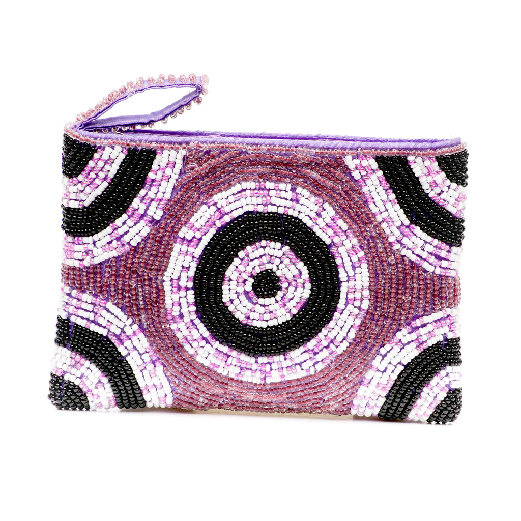Small Coin Purse- Poppin' Plum