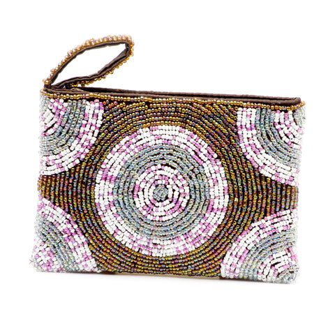 Small Coin Purse- Poppin' Spring Iridescence