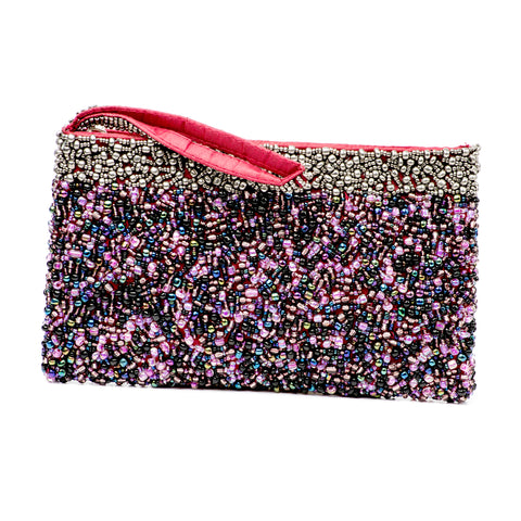 Evening Clutch- Pewter Purple