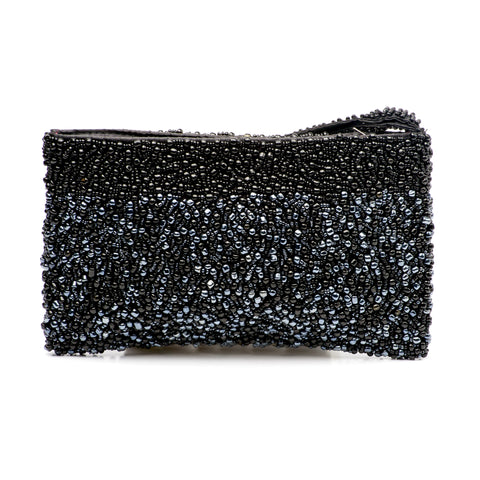Evening Clutch- Midnight Obsidian