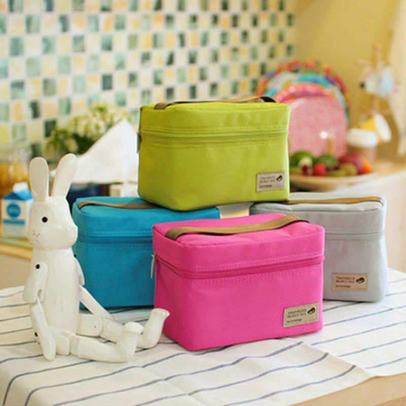 Portable Lunch Box Insulated Thermal Cooler Bag