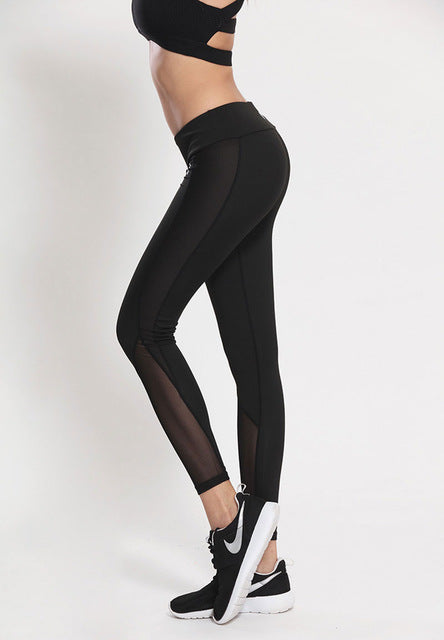 Fitness Leggings Athleisure Slim Sportswear