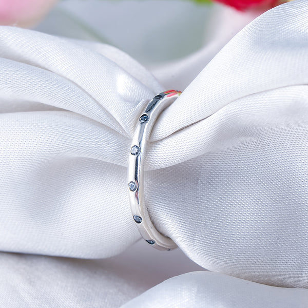 Silver Rings Wedding Style Jewelry