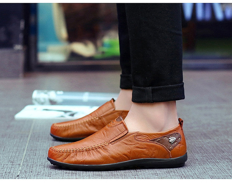 Soft Leather Handmade Casual Shoes