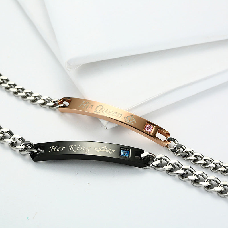 Romantic Couple Bracelets Jewelry