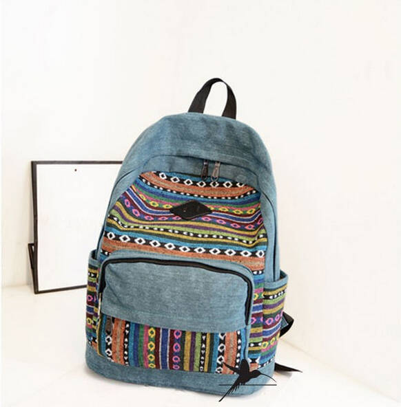 Fashion New Canvas Women Backpacks