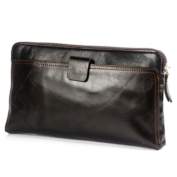 Genuine Leather Coin Purse Men Wallet
