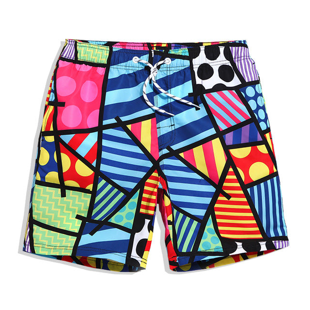 Board Shorts Swim Beach Boxer Swimsuits