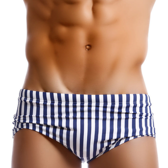 Sexy Men Low Waist Designed Swimsuits