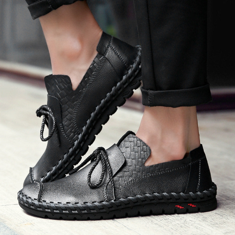 Leather Casual Comfortable Shoes