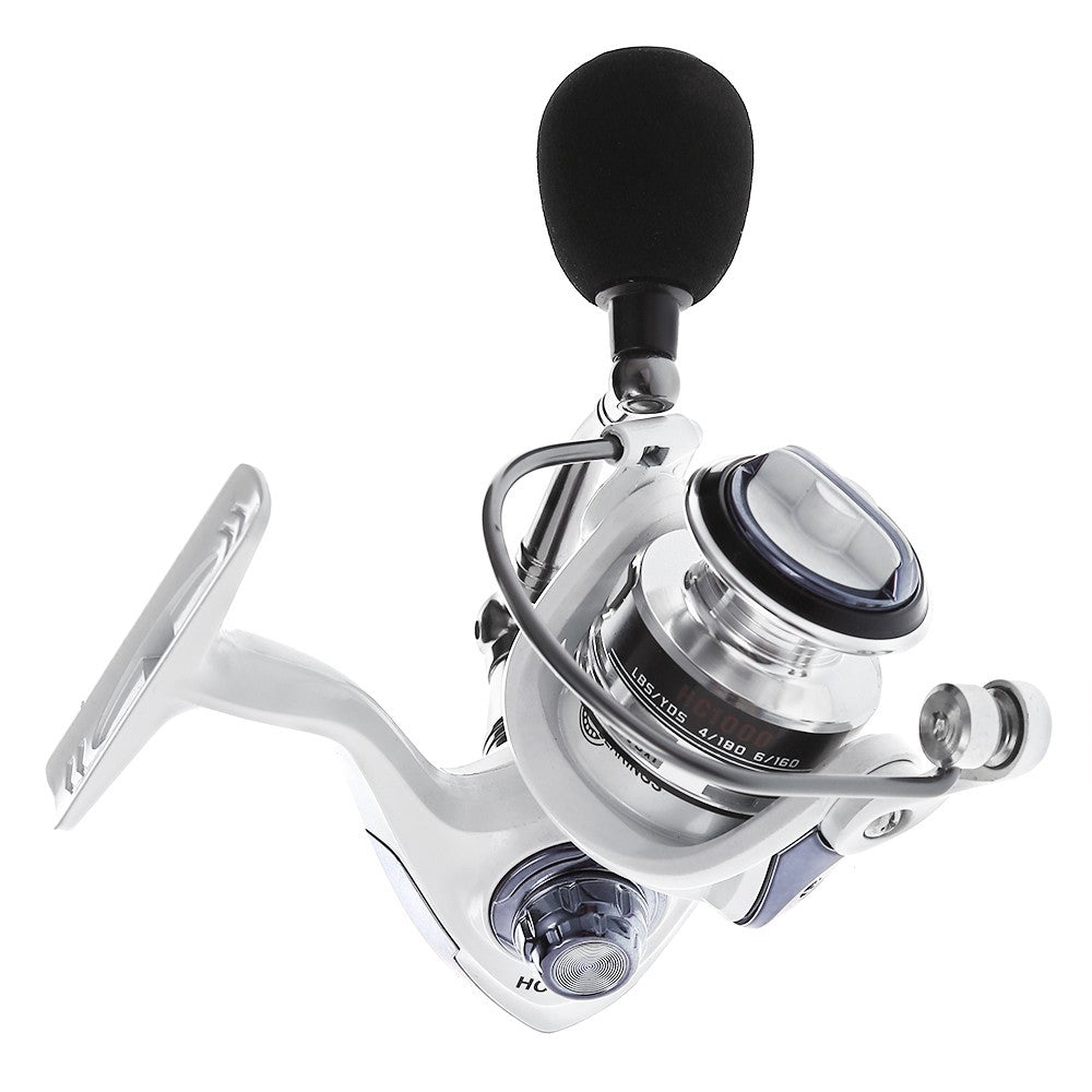 Spinning Fishing Reel with Exchangeable Handle Automatic folding for Casting Line