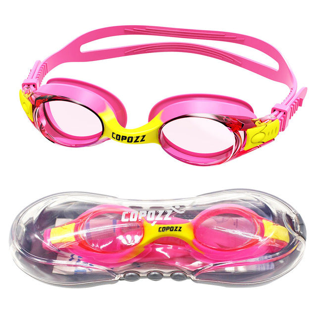 Swimming Waterproof  Anti-fog UV Protection Goggles