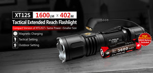KLARUS LIGHT XT12-S 1600 LUMS RECHARGEABLE