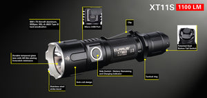 KLARUS XT11-S LIGHT 1100 LUMS RECHARGEABLE