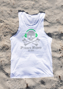 Men's White Tank Top #1006
