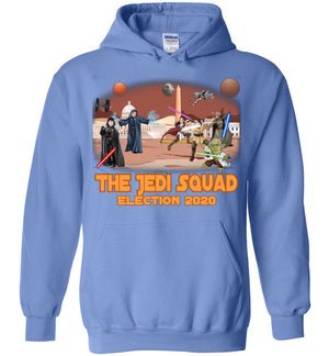 The Jedi Squad Hoodie - Tex Orange