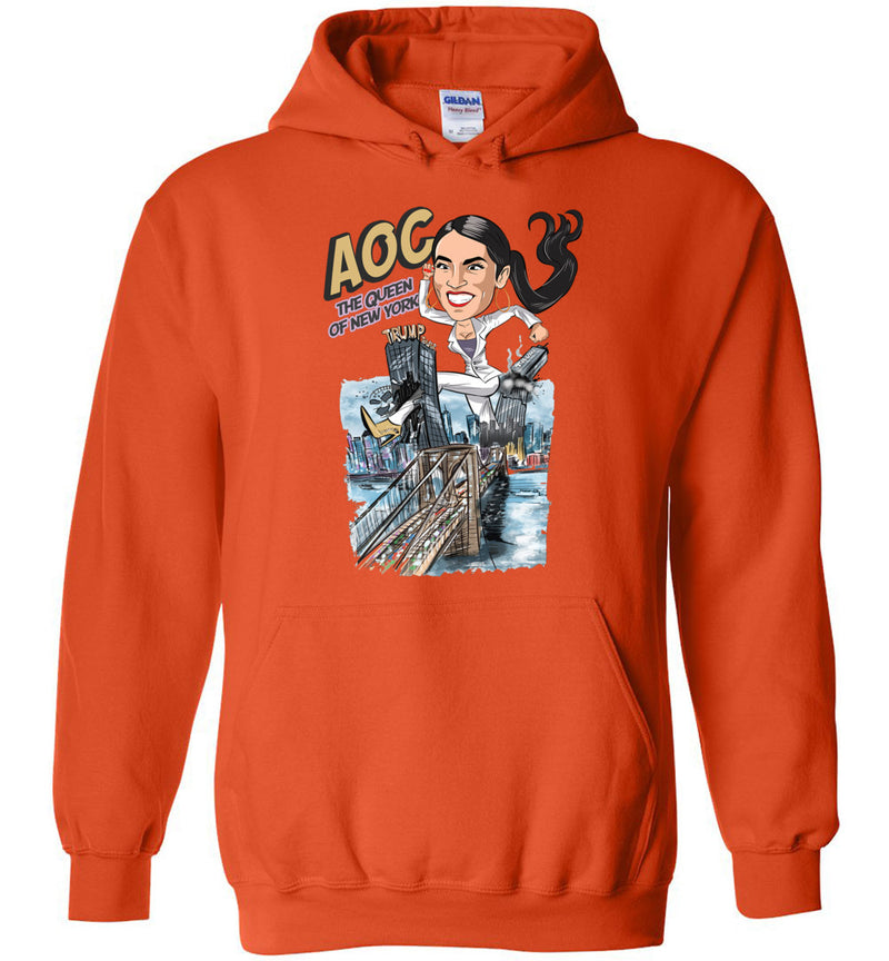 AOC The Queen Of New York Hoodie