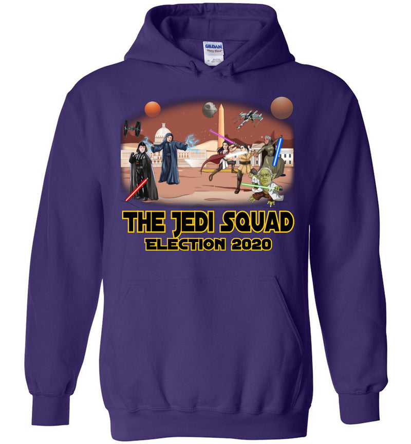 The Jedi Squad Hoodie - Black & Gold