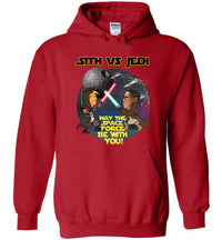 Sith vs Jedi Hoodie - Gold Outline