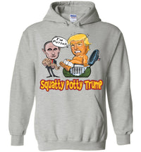 Squatty Potty  Baby Trump Hoodie - Cardinal & Gold