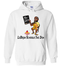 LeBron Schools The Don Hoodie - Black w White Outline
