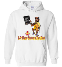 LA-Bron Schools The Don Hoodie - Purple w Gold Outline