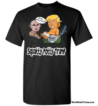 Squatty Potty Baby Trump Tee - White Outline