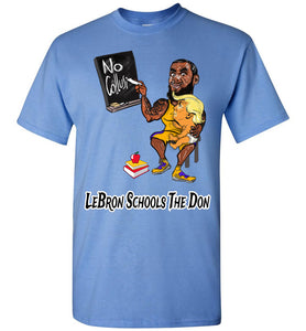 LeBron Schools The Don Tee - Black & White Outline