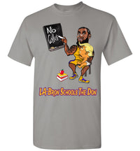 LA-Bron Schools The Don Tee - Gold & Purple Outline