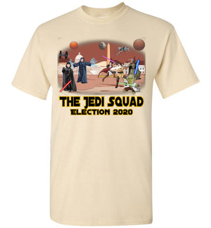 The Jedi Squad Tee - Black & Gold
