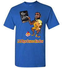 LA-Bron Schools The Don Tee - Purple & Gold Outline