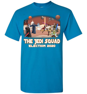 The Jedi Squad Tee -  White & Tex Orange