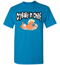CryBaby In Chief Baby Trump Tee - Black Outline