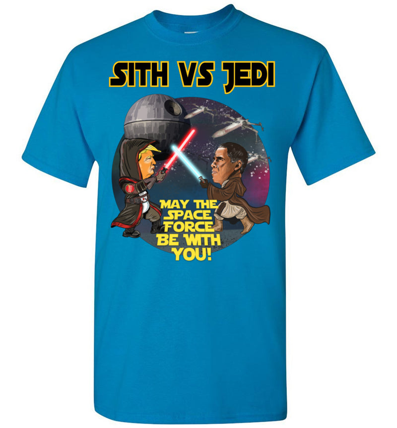 Sith vs Jedi Tee - Gold Outline
