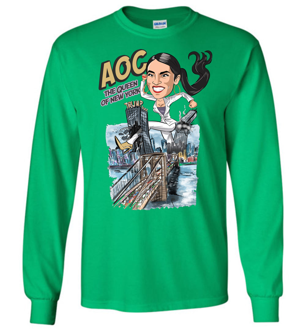 AOC The Queen Of New York Long Sleeve Tee