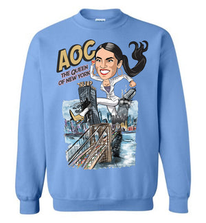 AOC The Queen Of New York Crewneck Sweatshirt