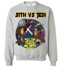 Sith vs Jedi Crewneck Sweatshirt - Gold Outline