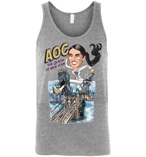 AOC the Queen of New York Unisex Tank