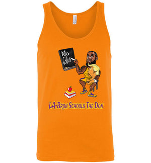 LA-Bron Schools The Don Tank - Purple w Gold Outline