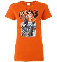 Women's AOC the Queen of New York Tee