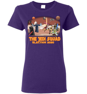 Women's The Jedi Squad Tee - Tex Orange