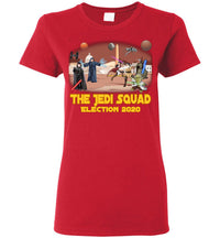 Women's The Jedi Squad Tee - Gold & Tex Orange